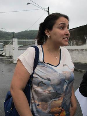 Vanessa Sabino, mãe da jovem agredida (Foto: Mariane Rossi/G1)