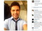 Zezé Di Camargo reclama de perfil que critica seu namoro em rede social