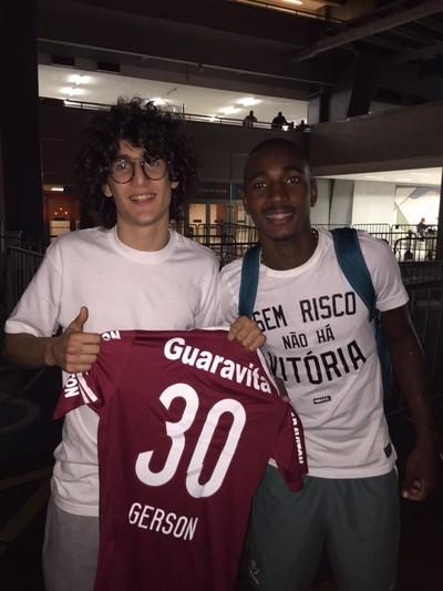 Tom e Gerson Fluminense (Foto: Divulgação)