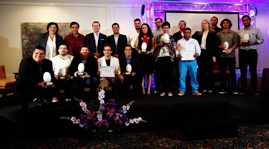 Vencedores da edição de 2016 do VIVA Prêmios Schmidheiny (Foto: Divulgação)