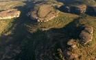 Rochas guardam região preservada (Rede Globo)