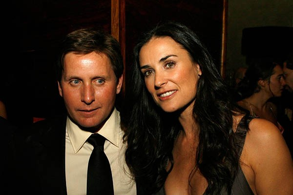 Demi Moore e Emilio Estevez (Foto: Getty Images)
