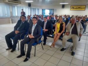 Solenidade ocorreu no Fórum de Justiça em Santarém (Foto: Amarildo Gonçalves/TV Tapajós)