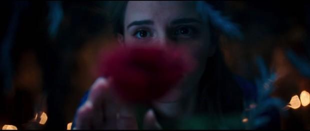 Emma Watson no teaser de A Bela e a Fera (Foto: Reprodução/ You Tube)
