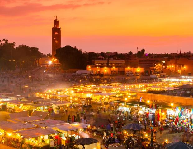 Marrakech, um dos destinos da volta ao mundo  (Foto: Reprodução)