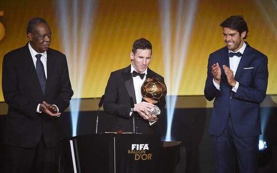 Lionel Messi, melhor do mundo pela quinta vez em 2015 (Foto: Getty Images)