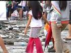 Sobrevivente brasileiro relata as dificuldades nas Filipinas após tufão