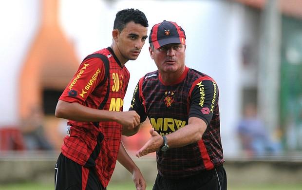 Mazola e Naldinho - Sport (Foto: Aldo Carneiro)