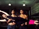 Roberta Appratti, do balé do 'Domingão', dança com Minotauro e luta com Minotouro
