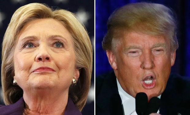Hillary Clinton é clara sobre Trump: 'não somos amigos' (Foto: Reuters)