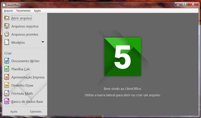 Do ponto de vista dos apps, LibreOffice é uma alternativa mais completa (Foto: Reprodução/Filipe Garrett)