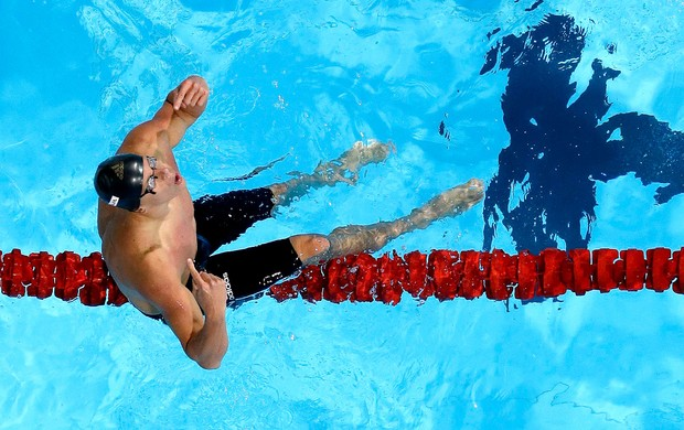 Cesar Cielo ouro 50m borboleta Mundial (Foto: AP)
