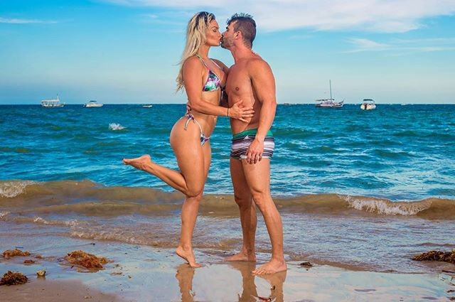 Laura Keller e namorado (Foto: Reprodução/Instagram)