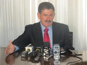 Paulo Melo (PMDB) foi reeleito presidente da Alerj, na tarde desta terça-feira (5). (Foto: Cristiane Cardoso / G1)