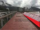 Desnível em ciclovia está previsto no projeto, diz Fundação Geo-Rio
