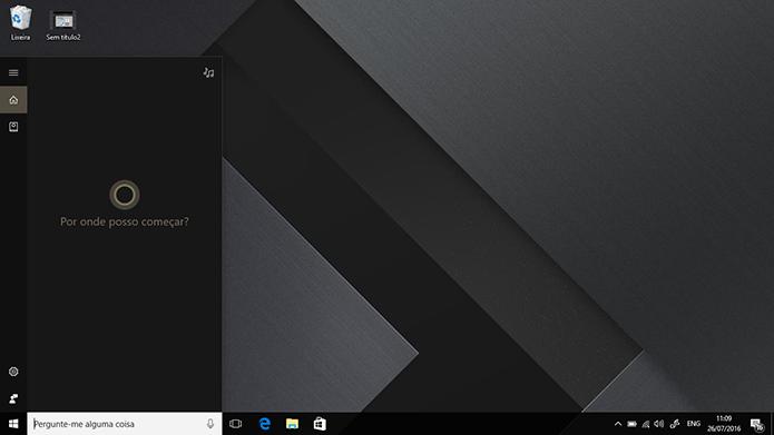 Windows 10 Anniversary Update trará Cortana em Português para o Brasil (Foto: Rerpodução/Elson de Souza)