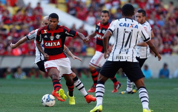 Resultado de imagem para Flamengo x Corinthians globoesporte