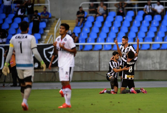 Botafogo x Vitória gol Willian Arão (Foto: Futura Press)