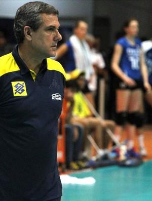 José Roberto Guimarães, técnico da seleção brasileira de vôlei (Foto: Gabriel Peres/CBV)