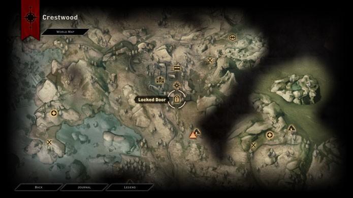 Você pode pegar o Amuleto do Poder várias vezes neste local (Foto: Reprodução/Tais Carvalho)