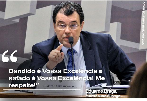 Card Eduardo Braga (Foto: Reprodução)