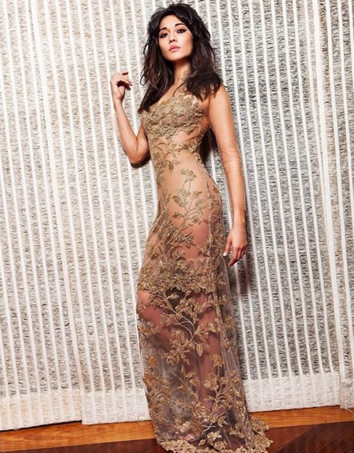 Para Jacqueline, vestido é peça-chave para a virada de ano (Foto: Arquivo pessoal)