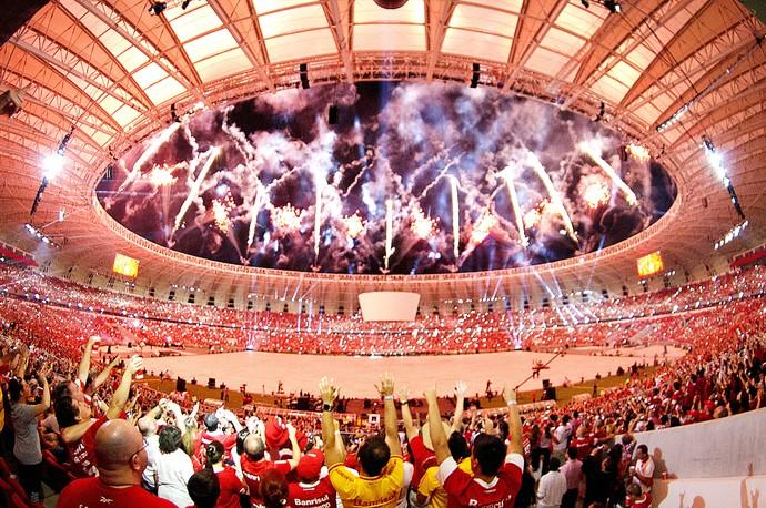 beira-rio inter os protagonistas show reinauguração (Foto: Jefferson Bernardes/Inter)