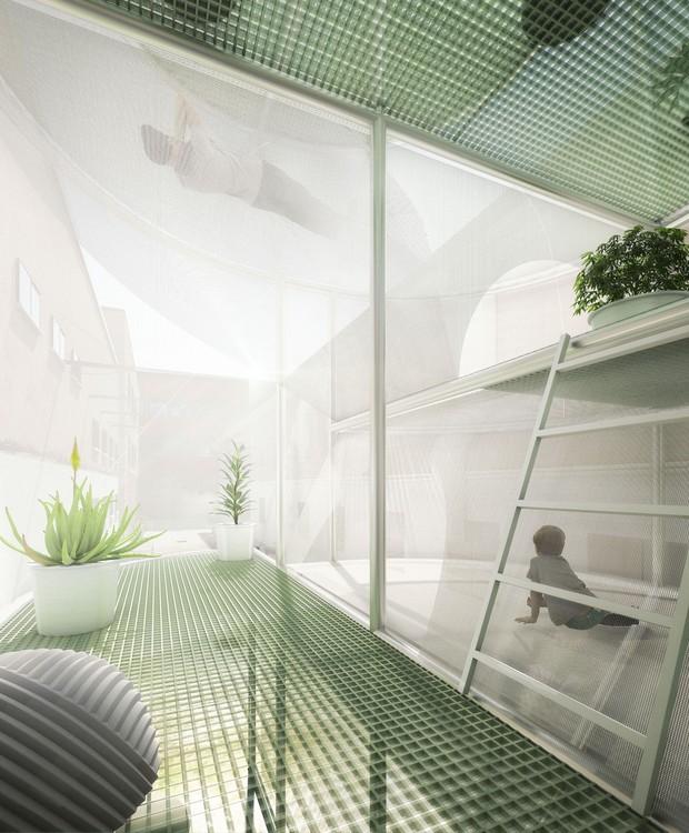 Arquitetos criam casas sustentáveis de apenas 5 metros de largura