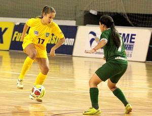 Daia, da Unochapecó, foi campeã brasileira (Foto: RAFAEL HENZEL / Globoesporte.com)
