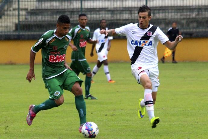 Bruno, Cabofriense (Foto: Divulgação/ Site oficial do Vasco)