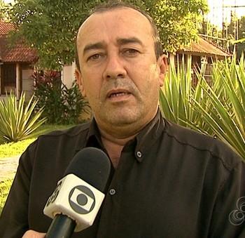 Gilson Albuquerque, presidente da Fafs (Foto: Reprodução/TV Acre)