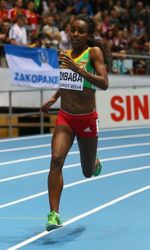 Genzebe Dibaba Atletismo (Foto: Getty Images)