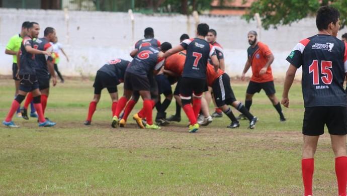 Palmas Rugby venceu o time paraense por 22 a 7 (Foto: Palmas Rugby/Divulgação)