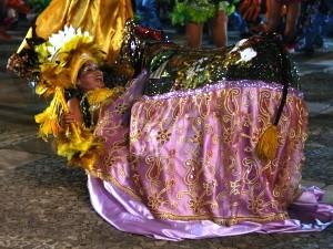 Boi Meu Tamarineiro, de São José de Ribamar,já passou pela Nauro Machado (Foto: Flora Dolores)