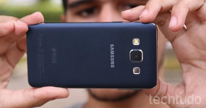 Samsung Galaxy A3 4 (Foto: Lucas Mendes/TechTudo)