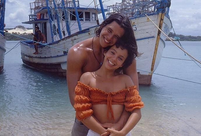 As belezas do Ceará foram palco para o amor de Cassiano e Dalila (Foto: Gshow)