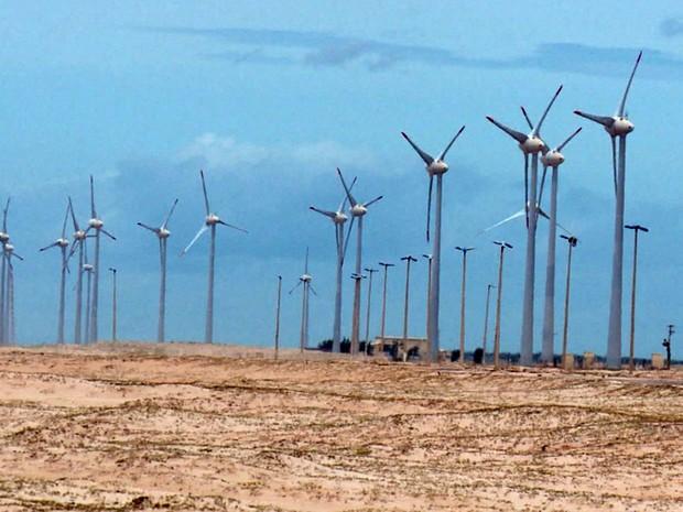 a8a9dcaef33 Parques eólicos se destacam em meio as belezas do Piauí (Foto  Reprodução TV