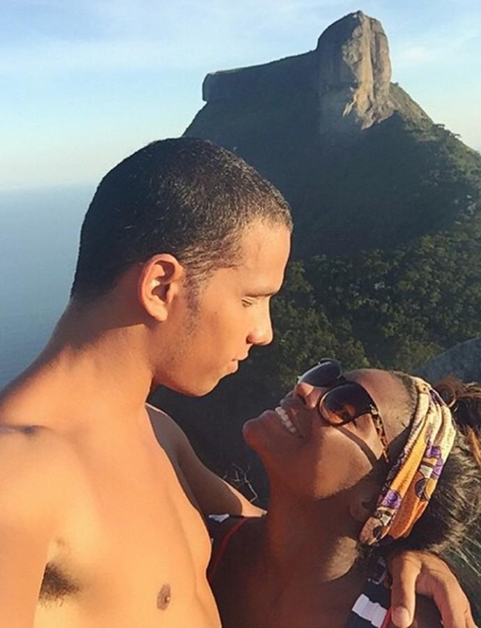 Tem imagem mais bonita que essa? Tem sim. A do casal com a mais pura felicidade (Foto: Arquivo pessoal)