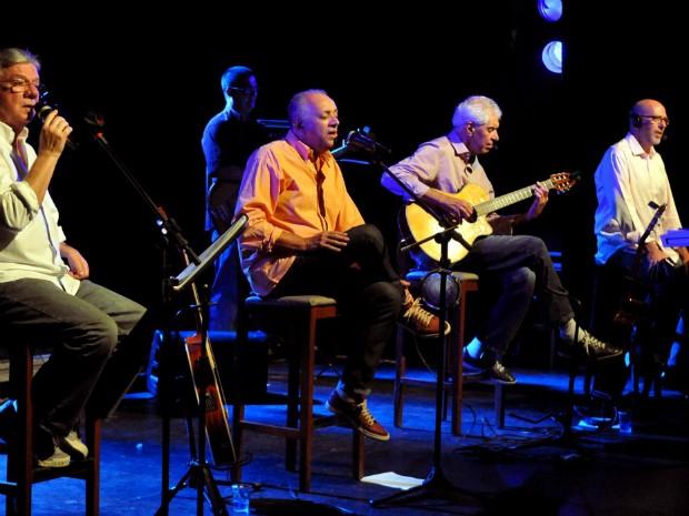 Banda MPB4 faz duas apresentações em Salvador (Foto: Cristina Granato/Divulgação)