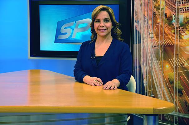 Cíntia Aquino estará de férias a partir desta segunda (9). Simone Gomes apresenta o SPTV 2ª Edição. (Foto: Marketing TV Fronteira)