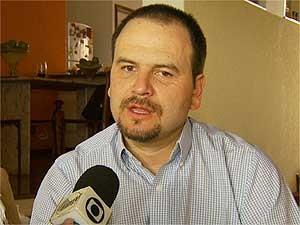 O médico sanitarias André Ribas durante entrevista à EPTV (Foto: Reprodução EPTV)