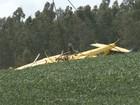 Energia elétrica é restabelecida após avião agrícola cair sobre fios no RS
