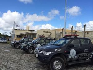 Batalhão de Operações Policiais Especiais (Bope) realiza vistoria no Presídio de Segurança Máxima (Foto: Carolina Sanches/G1)