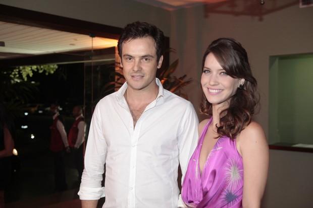 Sérgio Guizé e Nathalia Dill (Foto: Isac Luz / EGO)