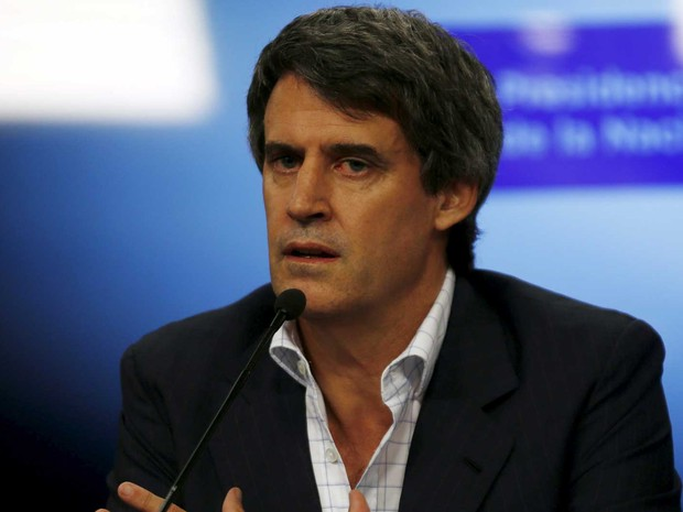 Ministro da Fazenda da Argentina, Prat-Gay (Foto: Marcos Brindicci / Reuters)