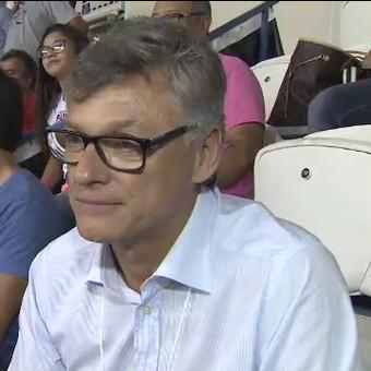 Dal Zotto técnico seleção brasileira vôlei (Foto: Reprodução/TV Vanguarda)