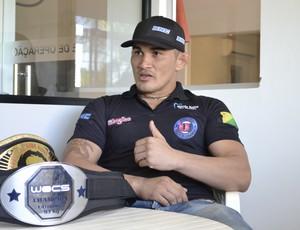Francimar Bodão, Nova União, lutador de MMA do Acre (Foto: Wescley Camelo)