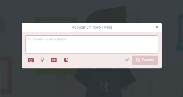 Twitter não vai aumentar o limite de 140 caracteres (Foto: Reprodução/Paulo Alves)