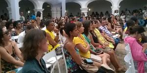 PROGRAMAÇÃO: veja o que vai rolar em Cachoeira até domingo (Henrique Mendes/G1)