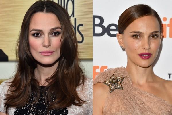 Keira Knightley e Natalie Portman são muito parecidas (Foto: Getty Images)